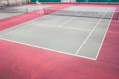 Outdoor tennis courts Royalty Free Stock Image