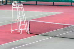 Outdoor tennis courts Stock Photo