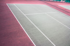 Outdoor tennis courts Royalty Free Stock Images