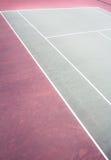 Outdoor tennis courts Stock Photos