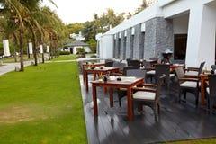 Outdoor terrace Royalty Free Stock Photos