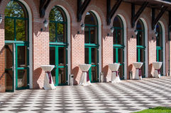 Outdoor terrace design Royalty Free Stock Photography