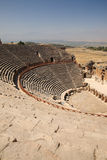 Outdoor Theater at Hierapolis Turkey Stock Photo