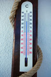 Outdoor thermometer Royalty Free Stock Images