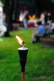 Outdoor Tiki Torch Stock Photos
