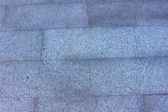Outdoor tile. On the street put tile rectangular gray Royalty Free Stock Photo