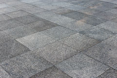 Outdoor tiles gray outdoor close up Royalty Free Stock Photo