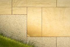 Outdoor tiles on the wall Stock Image