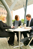 outdoor together working Στοκ Εικόνες