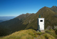 Outdoor toilet Royalty Free Stock Image
