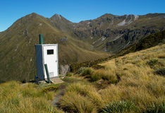 Outdoor toilet Stock Images