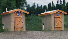 Outdoor Toilet Royalty Free Stock Images