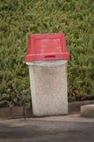 Outdoor Trash Container Stock Photos
