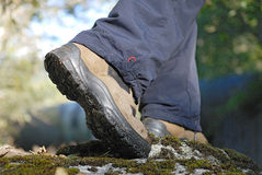 Outdoor trekking Royalty Free Stock Photo