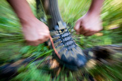 Outdoor trekking Royalty Free Stock Photos