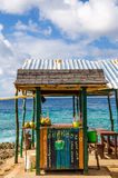 Outdoor Tropical Bar Royalty Free Stock Photography