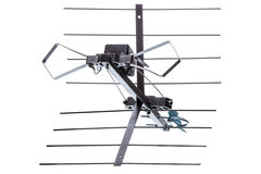 Outdoor TV antenna Stock Photos