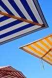 Outdoor Umbrellas Royalty Free Stock Photography