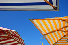 Outdoor Umbrellas Royalty Free Stock Images