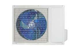 Outdoor unit of air conditioner Stock Image