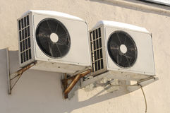 Outdoor Units of Air Conditioner Stock Photography