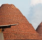 Outdoor view brick kiln,chonburi , thailand Royalty Free Stock Photography