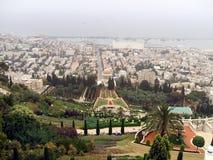 Outdoor view of Haifa city in Israel Royalty Free Stock Photos