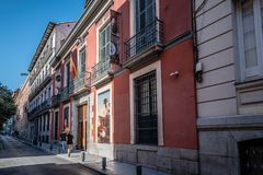 Free Outdoor View Of Museum Of Romanticism Of Madrid Stock Photos - 101986073