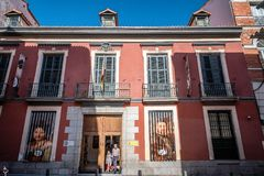 Free Outdoor View Of Museum Of Romanticism Of Madrid Royalty Free Stock Photography - 101986397