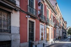 Free Outdoor View Of Museum Of Romanticism Of Madrid Royalty Free Stock Image - 102190866