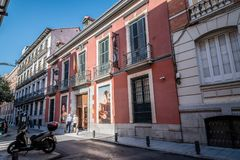 Free Outdoor View Of Museum Of Romanticism Of Madrid Royalty Free Stock Images - 102984509