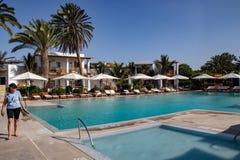 Resort of Hotel Paracas / Hotel Libertador. An Outdoor View of the Resort of Hotel Paracas / Hotel Libertador stock images