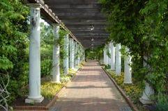 Outdoor walkway Stock Images
