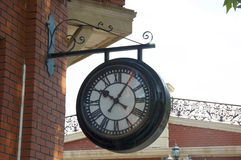 Outdoor wall clock Stock Photography