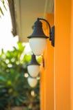 Outdoor wall lamp Royalty Free Stock Photos