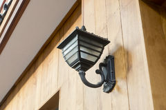 Outdoor Wall Light Stock Images