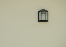 Outdoor wall light Royalty Free Stock Image