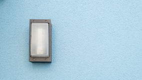 Outdoor wall light Royalty Free Stock Images
