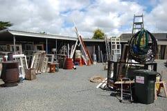 Outdoor warehouse Royalty Free Stock Photo