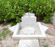 Outdoor washing bath at sea Royalty Free Stock Images