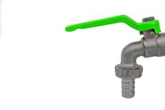 Outdoor Water Faucet Stock Image