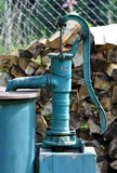 Outdoor water pump Royalty Free Stock Photo
