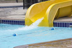 Outdoor Water Slide Stock Images
