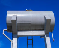 Outdoor Water Supply Tank Royalty Free Stock Photos