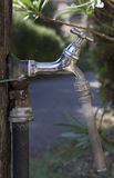 Outdoor water tap Royalty Free Stock Images