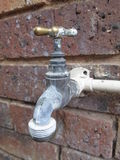 Outdoor Water Tap by Kambas Stock Photo