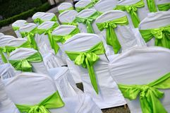 Outdoor Wedding Royalty Free Stock Photography