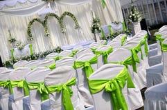 Outdoor Wedding Royalty Free Stock Image