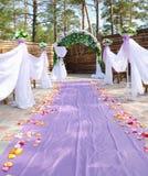 Outdoor wedding Stock Photography