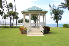 Outdoor Wedding Chapel Royalty Free Stock Photo